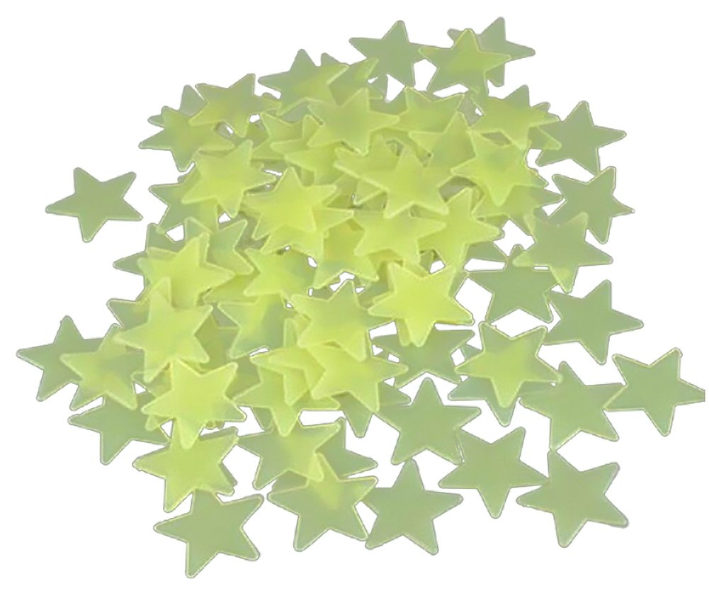 Amazon Shot In 100 X Home Wall Ceiling Glow In The Dark Stars