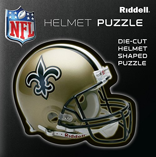 New Orleans Saints Team Helmet Puzzle