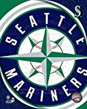 2011 Seattle Mariners Team Logo Photo 8 x 10in
