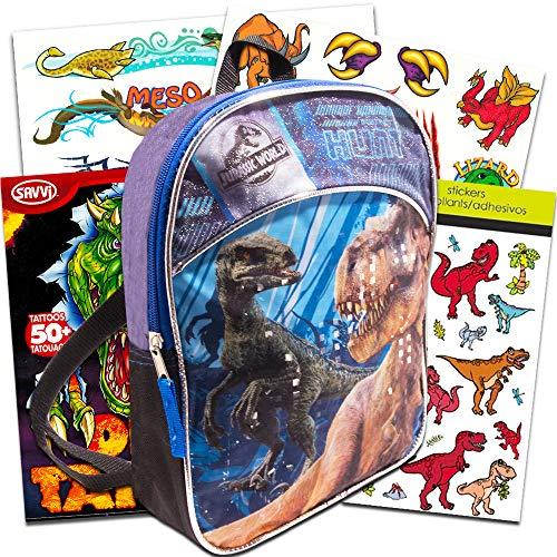 Jurassic World Dinosaur Mini Backpack Set Deluxe 11 Jurassic