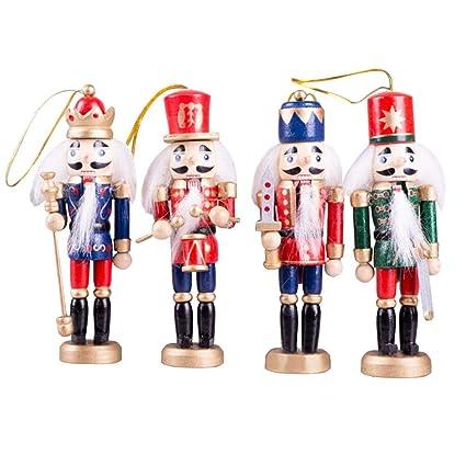 Christmas Decorations King Nutcracker Wooden Soldier Puppet 12CM, Festive  Holiday Desktop Window Decor, Christmas - Amazon.com: Christmas Decorations King Nutcracker Wooden Soldier