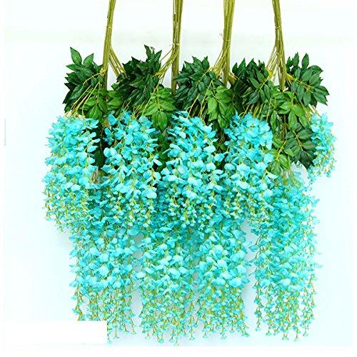 M2cbridge-12-Pcs-36-Feet-Artificial-Wisteria-Vine-Ratta-Silk-Flowers-Home-Party-Wedding-Decor-6-Colors-Available