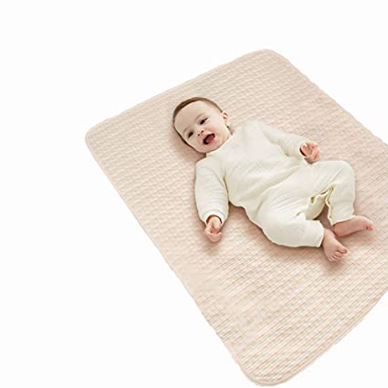 Amazon.com: ZXDBK Colchón impermeable para bebé, 27.6 x 39.4 ...