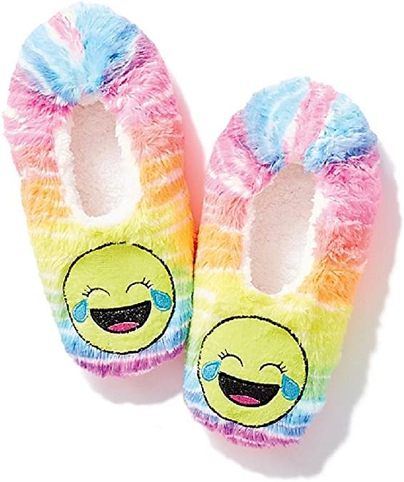 super specials attractive price new product Amazon.com | Justice Girls Emoji Slippers - Tears of Joy (XS ...