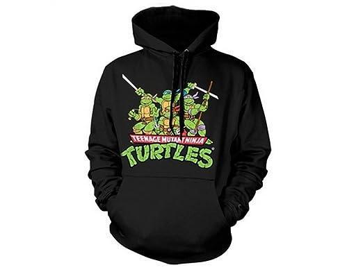 Teenage Mutant Ninja Turtles - Group distressed sudadera con ...