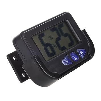 XZANTE Reloj de Viaje electronico Digital de Tamano de Bolsillo: Amazon.es: Coche y moto