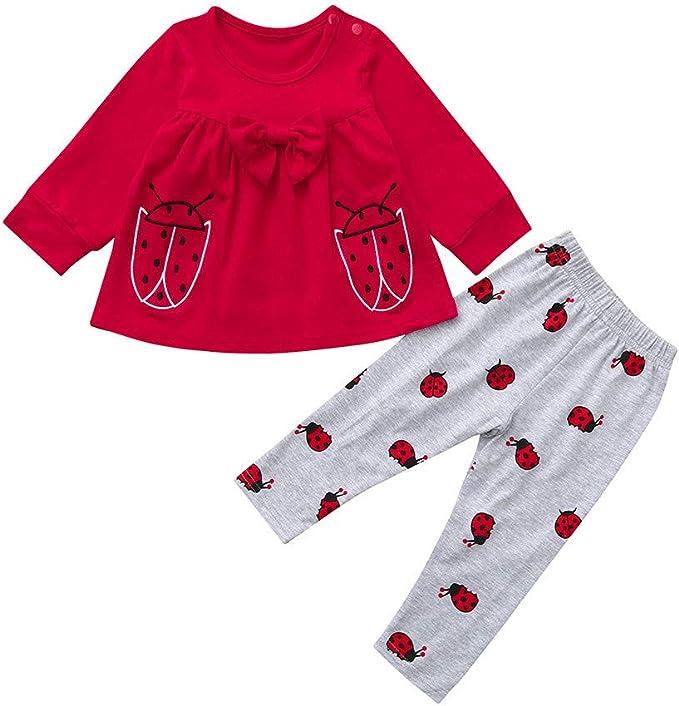 H.eternal Baby Girls Romper One-Piece Bodysuit Cotton Short Sleeve Sleepsuit Coveralls Cartoon Rabbit and Dot Print Clothes