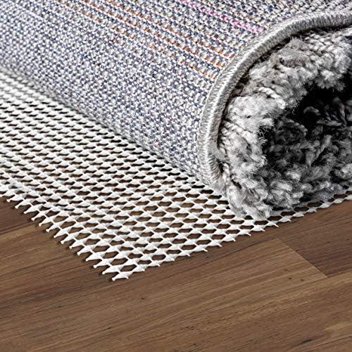 Unique Loom Anti-Slip Rug Pad Cream Area Rug 12 0 x 15 0