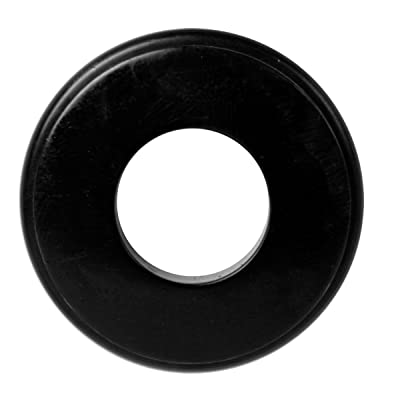 25 Black Gladhand Seals 10028 Black Rubber Gladhand Seals: Automotive