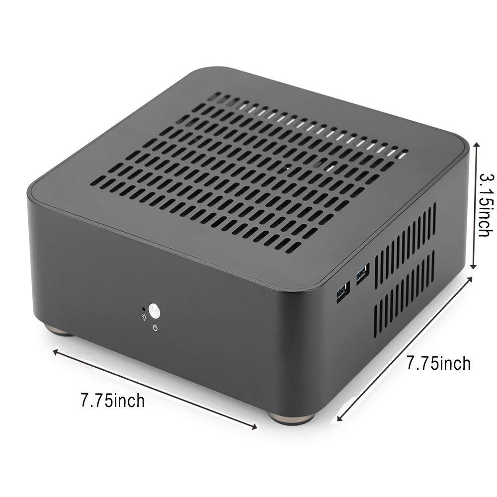 Amazon.com: RGeek - Carcasa de aluminio para PC HTPC para ...