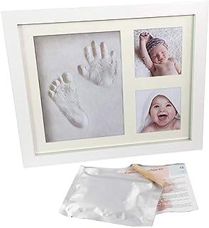 Marco huella de mano y pie de bebé para regalo de recién ...