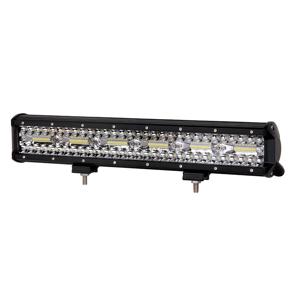 Led Light Bar,17.5'' 360W Four rows of car lights Led Cree Bar Spot Flood Combo Beam Waterproof IP68 Driving Work Lights Super Bright for Jeep,Truck,Ford,4X4