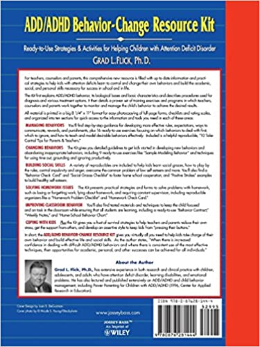 ADD / ADHD Behavior-Change Resource Kit: Ready-to-Use Strategies ...