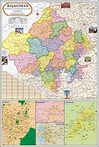 Buy rajasthan map book online at low prices in india rajasthan map buy rajasthan map book online at low prices in india rajasthan map reviews ratings amazon gumiabroncs Images