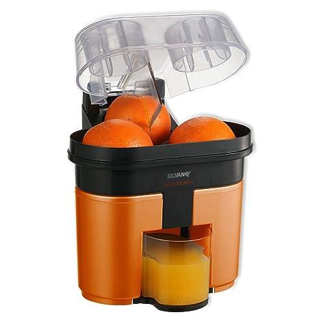 Exprimidor eléctrico con cortador y doble cono de exprimido DUO EXPRIM (Naranja)