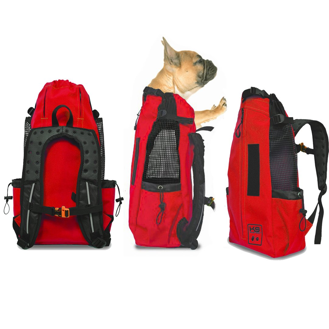 K9 Sport Sack AIR | Pet Carrier Backpack for Small and Medium Dogs | Front Facing Adjustable Pack | Veterinarian Approved Safe Bag for Travel to Carry Canine Charcoal Grey)