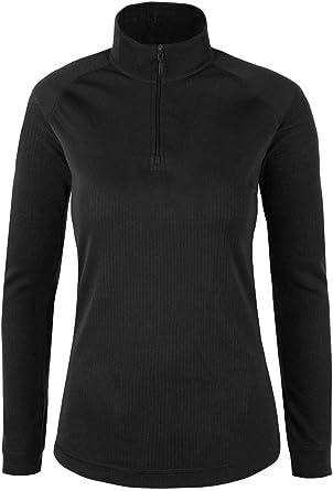 Mountain Warehouse Top térmico Interior de Manga Larga Talus para Mujer - Camiseta térmica cálida, Camiseta Ligera, Transpirable, Cuidado fácil: Amazon.es: Hogar