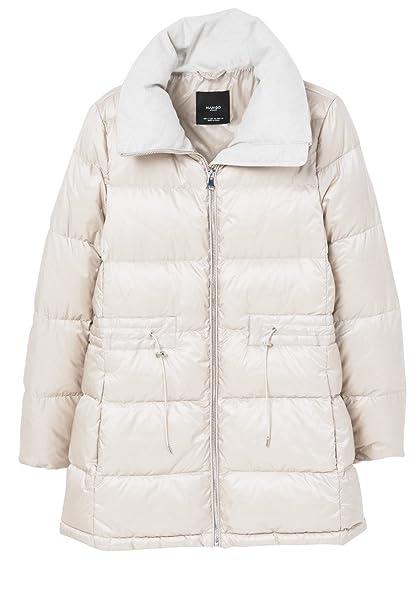 innovative design 1b02d 2d80d ManGo MangoLION - Piumino - Ice-Grey: Amazon.it: Abbigliamento