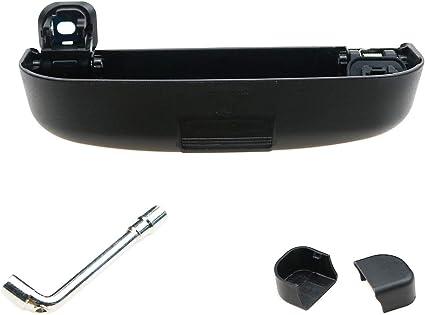 Gris CDEFG Auto Coche Gafas Caja Organizador Gafas de Sol Soporte Almacenamiento Bolsillos para Volvo XC90 V60