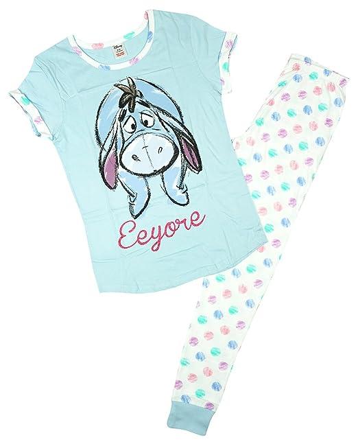 Mujer Disney Winnie the Pooh Eeyore Paquete De Regalo Pijama Tallas Grandes de 8 a 22