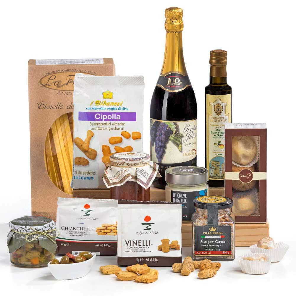 642df8e8dcda Squisito Luxury Italian   Sicilian Food Hamper Gift Box  Amazon.co.uk   Grocery
