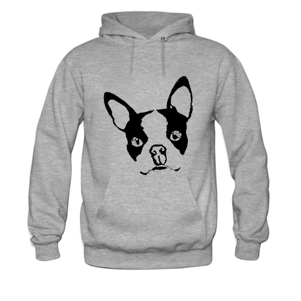 b6cc93d974e Amazon.com  Boston Terrier Dog Mens hoody Sweatshirt  Clothing