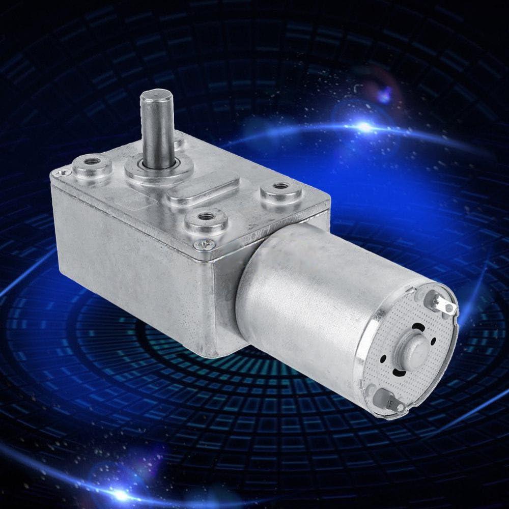 Sharplace R/éducteur /à Engrenages Vis sans Fin Turbo Moteur R/éduction Bo/îte De Vitesse Accessoire Outillage 6V 6RPM