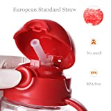 FACE Straw Water Bottle for Kids BPA Free with