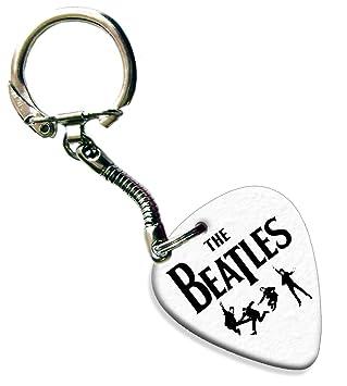 Beatles (Classic Logo Range) Guitarra Púa Para Llavero ...
