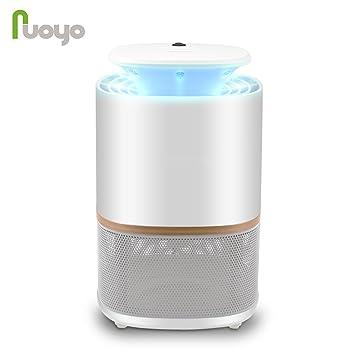 Lámpara Anti Mosquitos Electrónica NuoYo Mosquito de la Lámpara el Mejor Segura y Eficaz Lámpara de Anti-mosquito / Anti-insectos Con luz UV 3W (blanco): ...