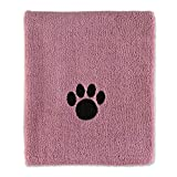 Bone Dry Pet Collection Embroidered Terry