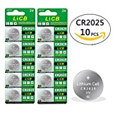 LiCB CR2025 2025 3V Lithium Battery (10-pack)