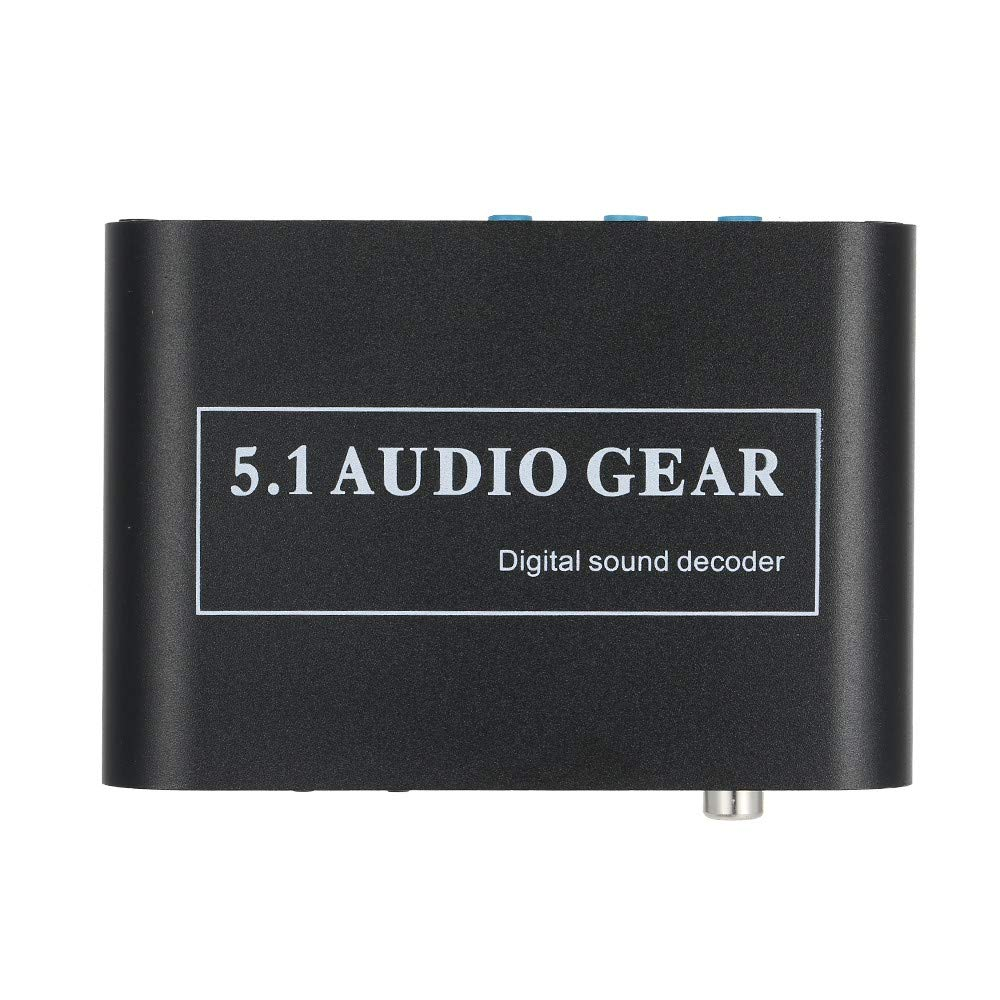 5.1 Channel AC3/DTS Audio Gear Digital Surround Sound Decoder HD Player with USB Port by Dingq
