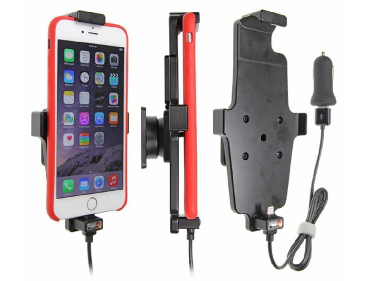 1 Pack Brodit 521663 Active Holder with cig-Plug for Apple iPhone 6 Plus//6S Plus