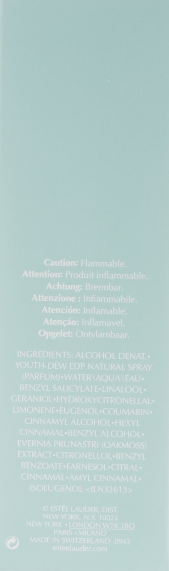 Youth Dew by Estee Lauder for Women - 2.25 Ounce EDP Spray by Estee Lauder (Image #2)