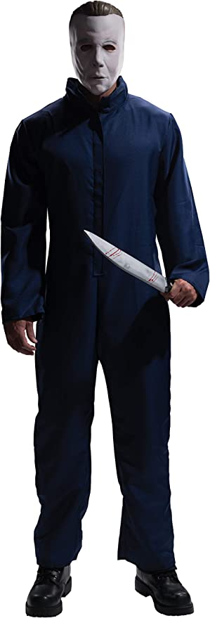 Rubies Halloween Movie Adult Michael Myers Jumpsuit and Mask