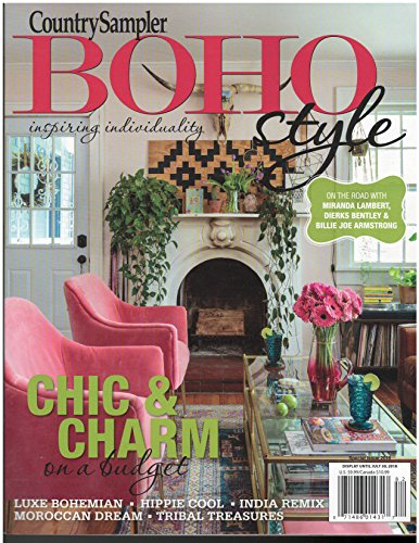 Country Sampler BOHO Style Magazine Summer 2018 -
