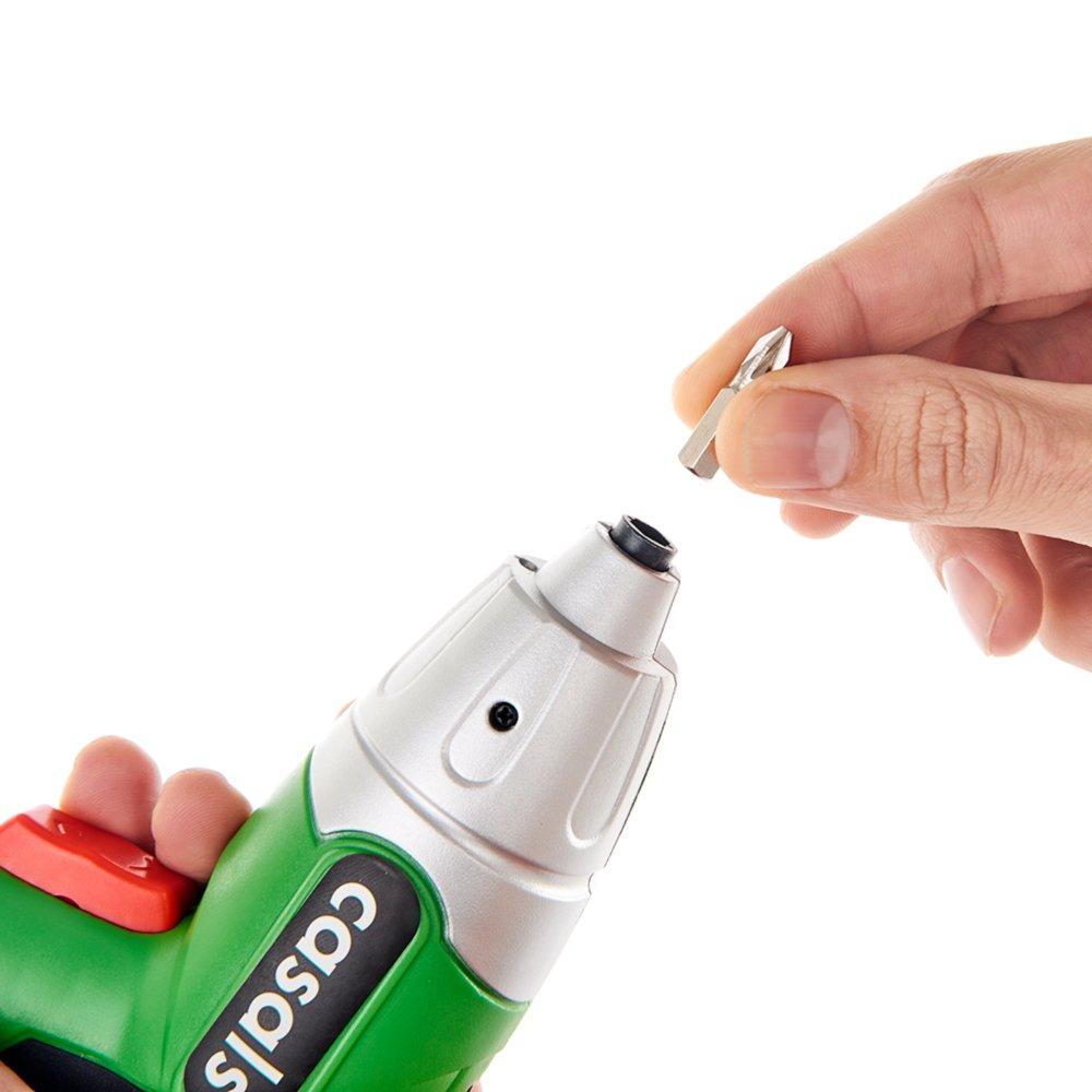 Casals C01235000 Atornillador a batería de litio, 3.6 W, 3.6 V