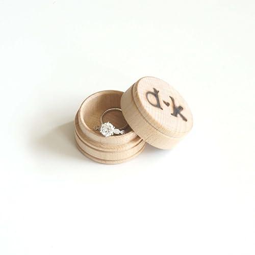 Amazon Com Custom Personalized Engagement Ring Initials Names