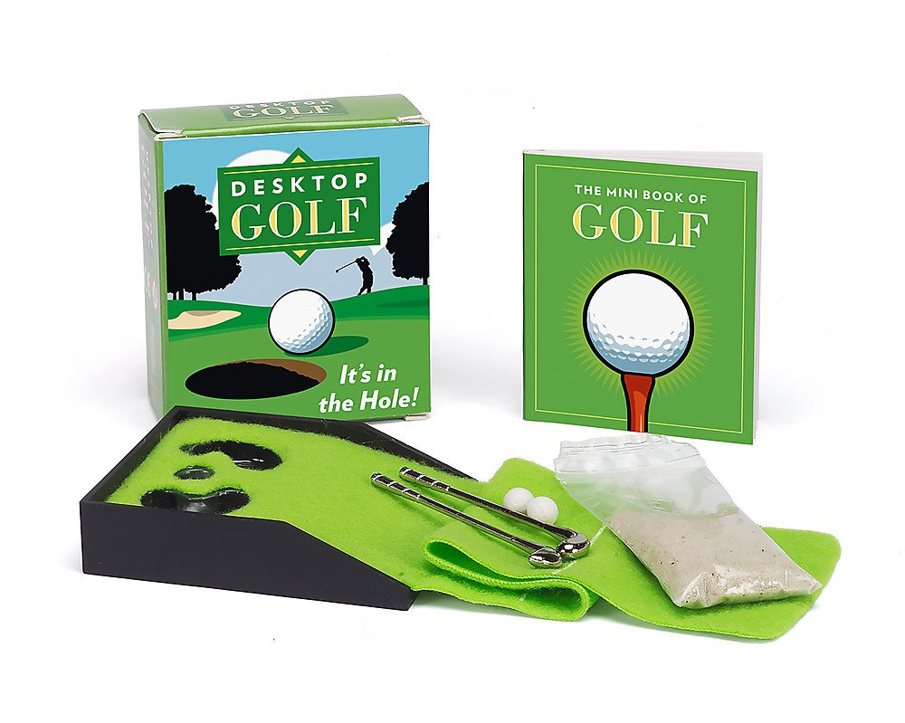 Desktop Golf (Miniature Editions): Chris Stone: 9780762438150 ... on baseball golf, hockey golf, plinko golf,