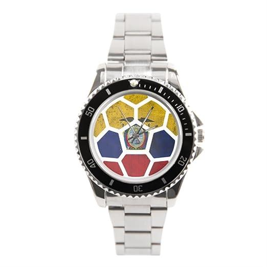 blue5 2016 mejores relojes de pulsera. Ecuador inoxidable reloj: Amazon.es: Relojes