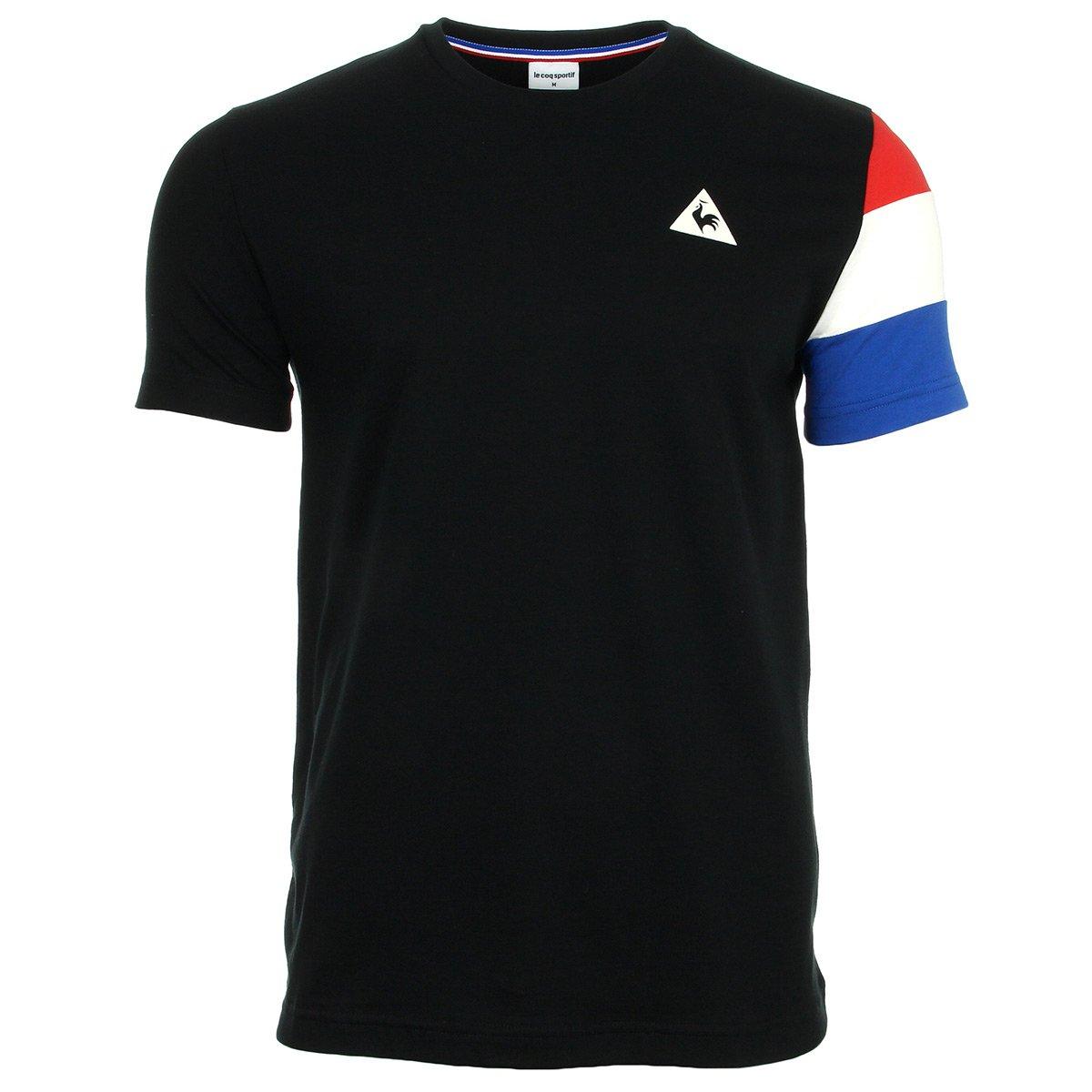 Le Coq Sportif Tri SP BBR Cotontech Tee SS M schwarz Mars, T-Shirt