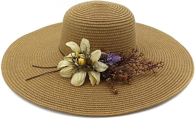 GHC gorras y sombreros Sombrero de paja de soldadura de verano ...