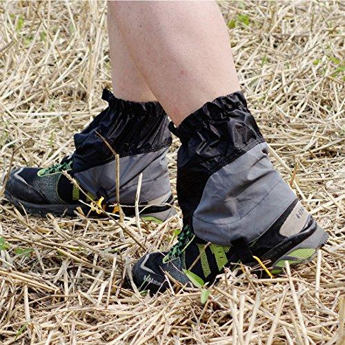 AMYIPO Unisex Travel Snow Leg Gaiter Hiking Snow Boots Gaiters Waterproof Gaiters