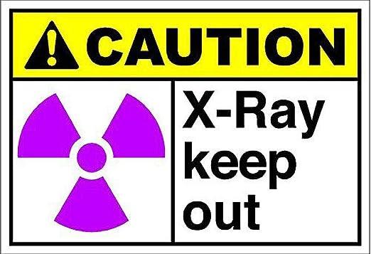 Tarfy Ray Keep out Caution Decoración de Pared Retro Vintage ...