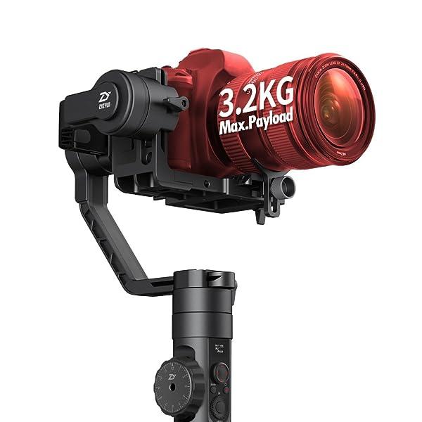 New Zhiyun-Tech Crane-2  3-Axis Stabilizer with Follow Focus for DLSR