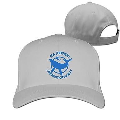 7c976356ce0 Ash Sea Shepherd Whale Logo Adjustable Ball Cap  Amazon.ca  Clothing ...