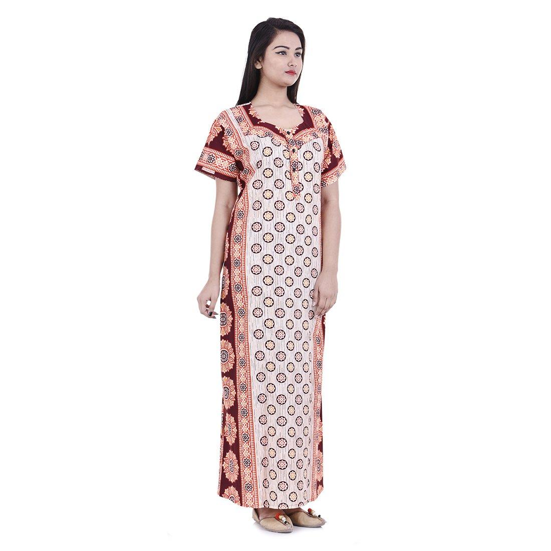 955fa604d2 Womens nighty nightwear gown cotton maxi dress sleepwear nightgown bikini  cover beachwear at amazon women clothing
