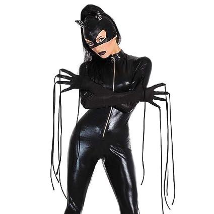 CoolTing Unicornio Negro Lindo Viuda Negra/Catwoman Cosplay ...