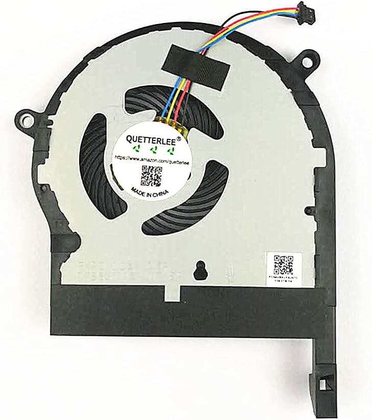 QUETTERLEE Replacement New GPU Cooling Fan for Asus ROG TUF Gaming FX80 FX80G FX80GE ZX80GD FX8Q FX80FE ZX80G FX504 FX504GD FX504GE FX504FE FX504GM GTX1050 Series DFS531005PLOT FKPD Fan